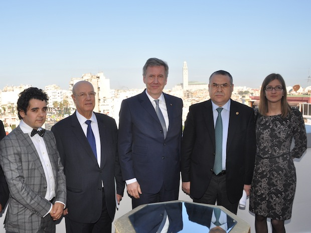 Photo of Christian Wulff eröffnet EMA-Büro in Casablanca