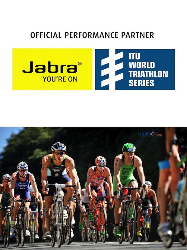 Bild von Jabra ist globaler Partner der ITU World Triathlon Series