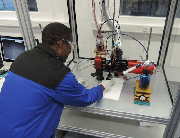 Bild von Kyocera eröffnet neues Test Lab für Tintenstrahldruckköpfe in Esslingen