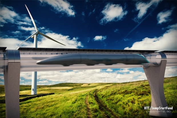 Bild von Erste Hyperloop Rohrbahn wird in Kalifornien gebaut