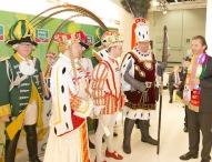 Kölner Dreigestirn eröffnet den Intersnack Messestand