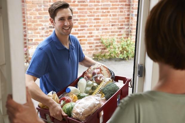 Bild von Lebensmittel online einkaufen