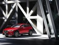 Mazda CX-3 feiert Europadebüt