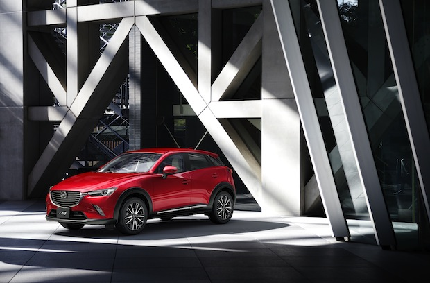 Photo of Mazda CX-3 feiert Europadebüt
