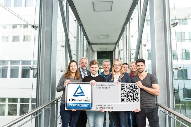 """Photo of TÜV Rheinland zertifiziert WAGO als """"Ausgezeichneten Arbeitgeber"""""""