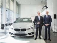 BMW Marktführer im Niederlassungsbereich Frankfurt