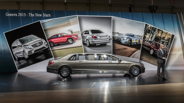Photo of Mercedes-Benz Cars auf dem Genfer Auto Salon 2015