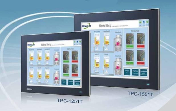 Advantech Touchscreen-Computer der neuesten Generation in True-Flat-Bauweise - die Mensch-Maschine-Schnittstelle der Zukunft - Quelle: PresseBox
