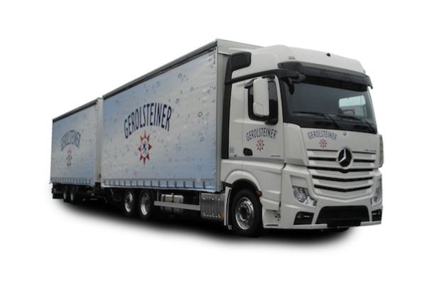 Getränke-Lastzug der Zukunft - Quelle: Pressebox