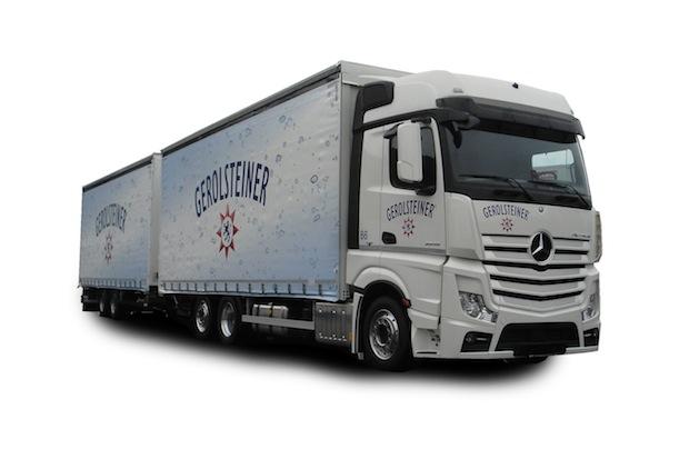 Photo of Getränke-Lastzug der Zukunft