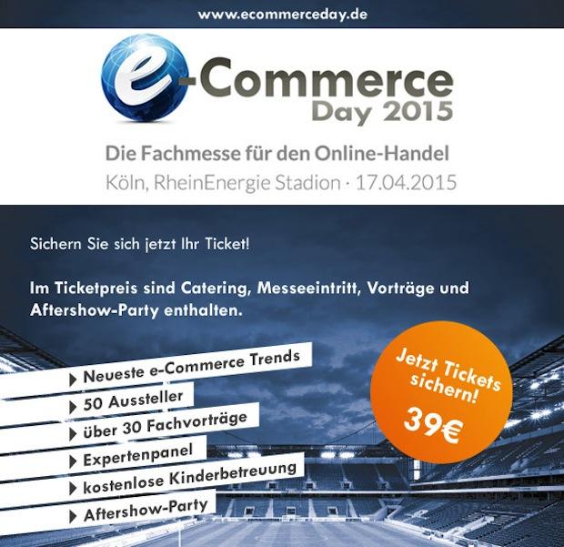 Bild von Am 17. April 2015 findet in Köln der sechste e-Commerce Day statt