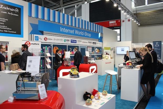 Bild von Internet World Messe zeigt die digitale Revolution im Handel