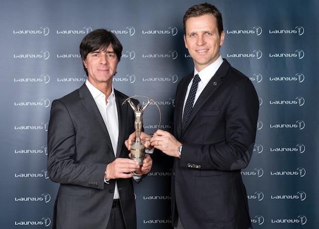Photo of Im Interview mit Laureus: Joachim Löw, Oliver Bierhoff und Benedikt Höwedes