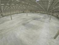 LEDs sparen Strom im neuen Logistikzentrum Bedburg