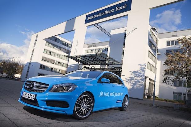 Bild von Mercedes-Benz Bank fährt auf Wachstumskurs