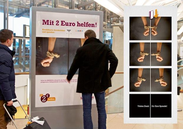 Photo of Kampagne des Jahres: Misereor gewinnt Airport Media Award 2014