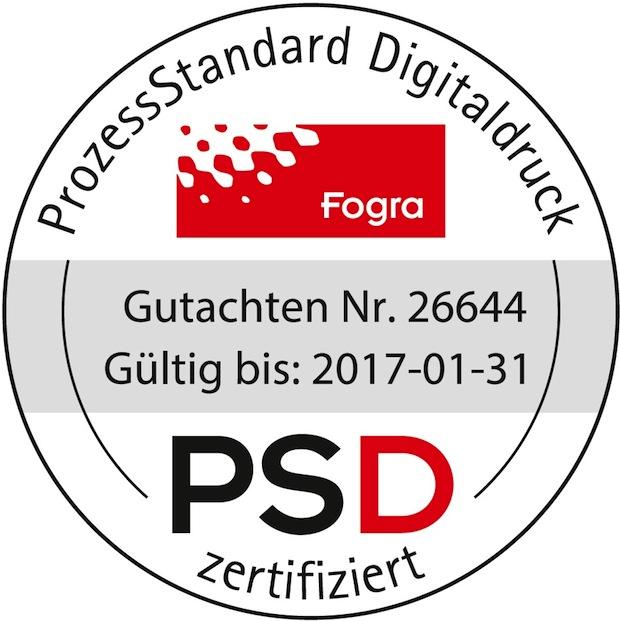 Bild von Polyprint erhält PSD Re-Zertifizierung der Fogra