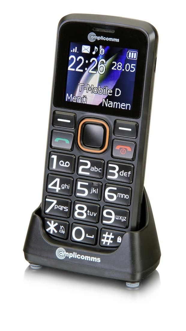 Bild von Einfach zu bedienende Handys von amplicomms