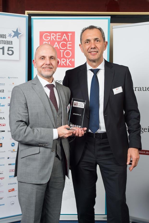 Bild von Great Place to Work: Staufen AG gehört erneut zu Deutschlands besten Arbeitgebern
