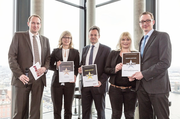 Bild von Auszeichnungsregen für die Media Carrier GmbH