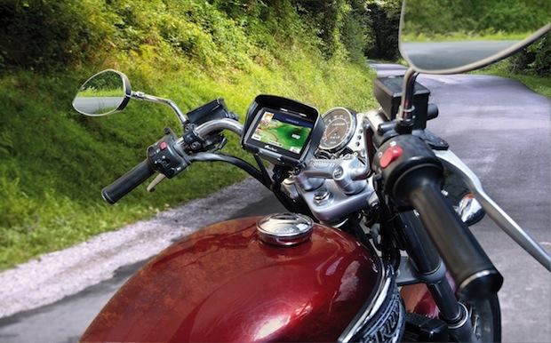 Bild von Neue Navigationsgeräte für  Motorradtour bis Geocaching