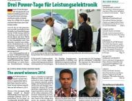 Messezeitung für PCIM Europe
