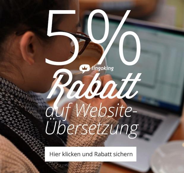 Photo of lingoking gewährt 5% Rabatt auf Webseiten-Übersetzung & Lokalisierung