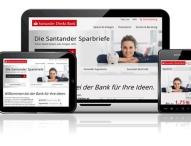 Neue Santander Direkt Bank für den deutschen Online Markt