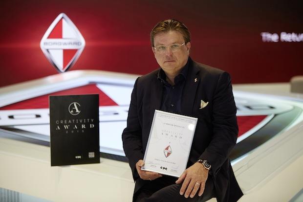 Photo of BORGWARD erhält Auszeichnung