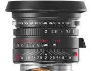 Leica Summicron jetzt auch in schwarz verchromter Ausführung