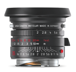 Leica Summicron M 2 35 ASPH blackchrome front lenshood - Quelle: LifePR