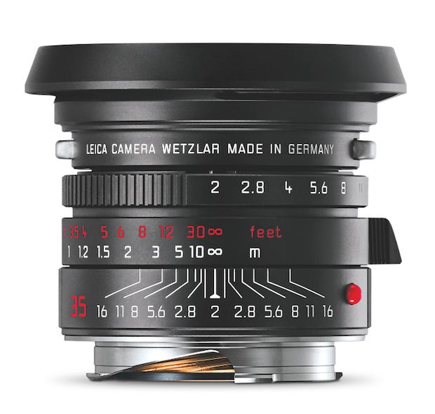 Photo of Leica Summicron jetzt auch in schwarz verchromter Ausführung