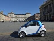 car2go erobert die Auto-Stadt Turin