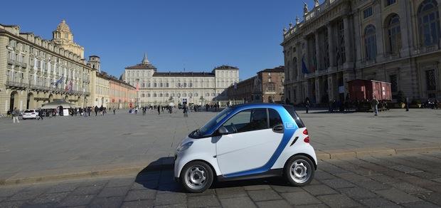 Bild von car2go erobert die Auto-Stadt Turin
