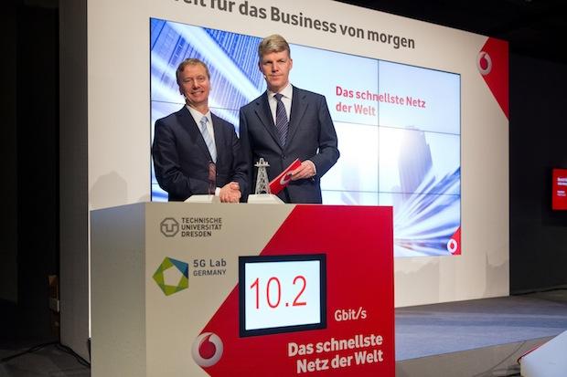 Bild von Vodafone präsentiert schnellstes Mobilfunknetz der Welt