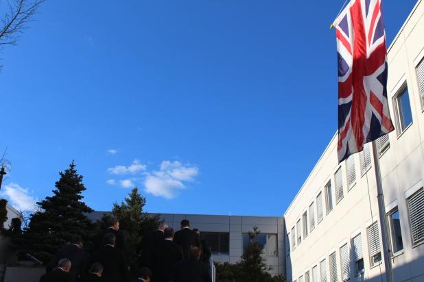 Frühlingsanfang in Südwestfalen - bestes Wetter für den Deutsch-Britischen Wirtschaftstag.