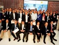 """Preisverleihung des """"Gründerwettbewerb – IKT Innovativ"""" auf der CeBIT"""