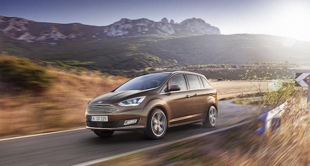 Bild von Verkaufsstart für die neue Ford C-MAX-Baureihe
