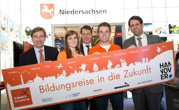 """Quellenangabe: """"obs/Hannover Marketing und Tourismus GmbH/IdeenExpo"""""""
