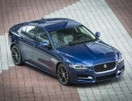 Jaguar präsentiert den neuen XE auf dem Burgplatz in Leipzig