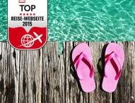 """lastminute.de ist """"TOP Reise-Website 2015"""""""