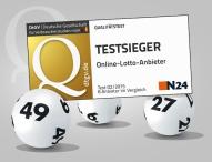 Lottohelden.de ist Testsieger im Bereich Online-Lotto