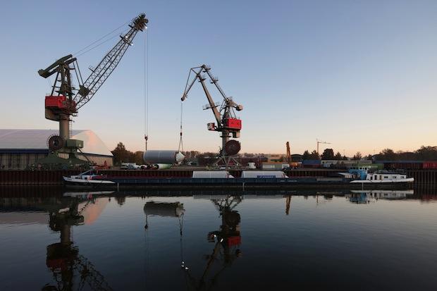 Bild von Rekordjahr für die bayerischen Donauhäfen