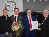 Autohaus Häusler Automobil GmbH & Co. KG wird 300. Partner von Mazda Mobil