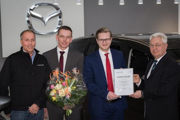Photo of Autohaus Häusler Automobil GmbH & Co. KG wird 300. Partner von Mazda Mobil