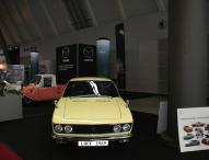 Historische Mazda Modelle auf der Retro Classics in Stuttgart