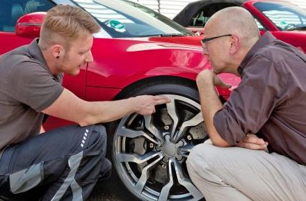 Bild von Beim Reifenwechsel auf die Aluräder achten