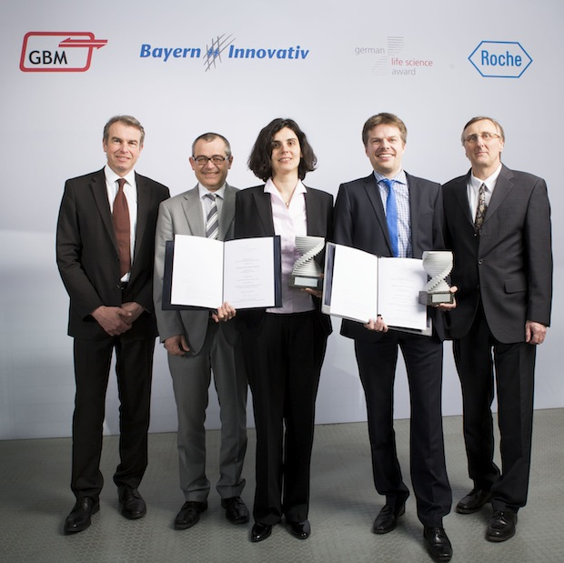 Photo of German Life Science Award verliehen