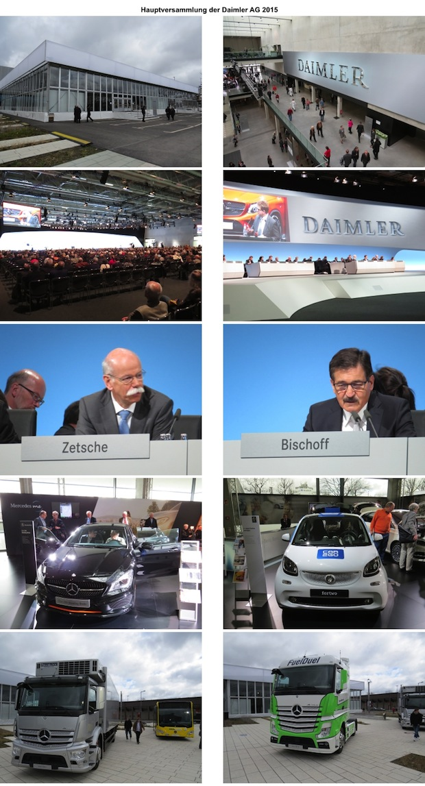 Photo of Hauptversammlung der Daimler AG 2015 in Berlin