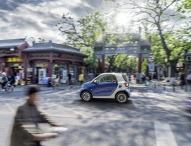 China-Premiere der neuen smart Generation bei der Auto Shanghai